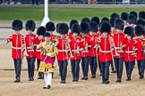Trooping the Colour 2011: Drum Major Stephen Staite, Grenadier Guards, leading the Band of the Grenadier Guards to the parade ground.. Horse Guards Parade, Westminster, London SW1, Greater London, United Kingdom, on 11 June 2011 at 10:29, image #41