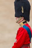 Trooping the Colour 2011: Close-up of HRH Prince Philip, The Duke of Edinburgh, standing on the saluting base during the Inspection of the Line.. Horse Guards Parade, Westminster, London SW1, Greater London, United Kingdom, on 11 June 2011 at 11:06, image #165