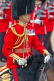 Trooping the Colour 2011: Close-up of The Field Officer, Lieutenant Colonel Lincoln P M Jopp.. Horse Guards Parade, Westminster, London SW1, Greater London, United Kingdom, on 11 June 2011 at 11:34, image #229