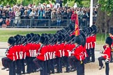 Trooping the Colour 2011: The Escort to the Colour, 1st Battalion Scots Guards, during the March Past.. Horse Guards Parade, Westminster, London SW1, Greater London, United Kingdom, on 11 June 2011 at 11:50, image #303