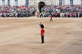 The Colonel's Review 2012: Marking all the relevant positions on Horse Guards Parade.. Horse Guards Parade, Westminster, London SW1,  United Kingdom, on 09 June 2012 at 10:16, image #35