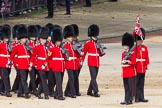 The Colonel's Review 2012: No. 5 Guard (1st Battalion Irish Guards) arriving at Horse Guards Parade.. Horse Guards Parade, Westminster, London SW1,  United Kingdom, on 09 June 2012 at 10:23, image #46
