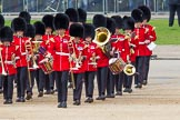 The Colonel's Review 2012: The Band of the Grenadier Guards marching onto Hors Guards Parade.. Horse Guards Parade, Westminster, London SW1,  United Kingdom, on 09 June 2012 at 10:27, image #66