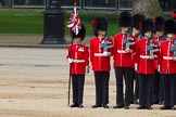 The Colonel's Review 2012: No. 1 Guard (Escort for the Colour) 1st Battalion Coldstream Guards.. Horse Guards Parade, Westminster, London SW1,  United Kingdom, on 09 June 2012 at 10:35, image #94