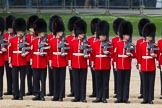 The Colonel's Review 2012: No. 1 Guard (Escort for the Colour) 1st Battalion Coldstream Guards.. Horse Guards Parade, Westminster, London SW1,  United Kingdom, on 09 June 2012 at 10:35, image #96