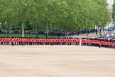 The Colonel's Review 2012: The Northern (St James's Park) side of Horse Guards Parade, with the road leading to the Mall on the right.. Horse Guards Parade, Westminster, London SW1,  United Kingdom, on 09 June 2012 at 10:42, image #112