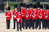 The Colonel's Review 2012: No. 1 Guard (Escort for the Colour), 1st Battalion Coldstream Guards.. Horse Guards Parade, Westminster, London SW1,  United Kingdom, on 09 June 2012 at 10:46, image #117