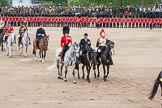 "The Colonel's Review 2012: The ""Royal Procession"" returning from the Inspection of the Line.. Horse Guards Parade, Westminster, London SW1,  United Kingdom, on 09 June 2012 at 11:05, image #199"