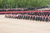 The Colonel's Review 2012: Massed Bands marching during the Massed Bands Troop.. Horse Guards Parade, Westminster, London SW1,  United Kingdom, on 09 June 2012 at 11:08, image #215