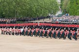 The Colonel's Review 2012: Massed Bands marching during the Massed Bands Troop.. Horse Guards Parade, Westminster, London SW1,  United Kingdom, on 09 June 2012 at 11:08, image #217