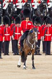 The Colonel's Review 2012: Adjutant of the Parade, Captain F O B Wells, Coldstream Guards.. Horse Guards Parade, Westminster, London SW1,  United Kingdom, on 09 June 2012 at 11:09, image #222