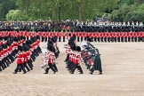The Colonel's Review 2012: The Massed Bands Troop, with the drummers and pipers at the rear.. Horse Guards Parade, Westminster, London SW1,  United Kingdom, on 09 June 2012 at 11:10, image #236