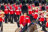 The Colonel's Review 2012: The Adjutant of the Parade, Captain F O B Wells, Coldstream Guards.. Horse Guards Parade, Westminster, London SW1,  United Kingdom, on 09 June 2012 at 11:21, image #282