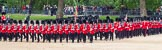 The Colonel's Review 2012: No. 1 Guard (Escort for the Colour), 1st Battalion Coldstream Guards, and No. 2 Guard, during the March Past.. Horse Guards Parade, Westminster, London SW1,  United Kingdom, on 09 June 2012 at 11:41, image #331