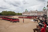 The Colonel's Review 2012: The March Past, an overview of Horse Guards Parade.. Horse Guards Parade, Westminster, London SW1,  United Kingdom, on 09 June 2012 at 11:43, image #342