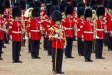 The Colonel's Review 2012: Senior Drum Major, M Betts, Grenadier Guards, with the Band of the Irish Guards.. Horse Guards Parade, Westminster, London SW1,  United Kingdom, on 09 June 2012 at 11:47, image #360
