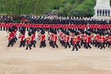 The Colonel's Review 2012: The Massed Bands are moving from the centre of Horse Guards Parade towards their initial position on the western side.. Horse Guards Parade, Westminster, London SW1,  United Kingdom, on 09 June 2012 at 11:49, image #368