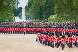 The Colonel's Review 2012: The Massed Bands are moving from the centre of Horse Guards Parade towards their initial position on the western side.. Horse Guards Parade, Westminster, London SW1,  United Kingdom, on 09 June 2012 at 11:49, image #369