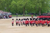 The Colonel's Review 2012: The Massed Bands are moving from the centre of Horse Guards Parade towards their initial position on the western side.. Horse Guards Parade, Westminster, London SW1,  United Kingdom, on 09 June 2012 at 11:49, image #372