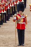 The Colonel's Review 2012: Drum Major Stephen Staite, Grenadier Guards.. Horse Guards Parade, Westminster, London SW1,  United Kingdom, on 09 June 2012 at 11:50, image #378