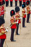 The Colonel's Review 2012: The five Drum Majors on parade, in focus and commanding: Senior Drum Major, M Betts, Grenadier Guards.. Horse Guards Parade, Westminster, London SW1,  United Kingdom, on 09 June 2012 at 11:50, image #380