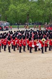 The Colonel's Review 2012: The March Past: After the Massed Bands have repositioned, the King's Troop Royal Horse Artillery starts their Ride Past around the parade ground.. Horse Guards Parade, Westminster, London SW1,  United Kingdom, on 09 June 2012 at 11:50, image #381