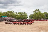 The Colonel's Review 2012: The March Past: After the Massed Bands have repositioned, the King's Troop Royal Horse Artillery starts their Ride Past around the parade ground.. Horse Guards Parade, Westminster, London SW1,  United Kingdom, on 09 June 2012 at 11:50, image #382