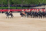 The Colonel's Review 2012: The Mounted Bands of the Household Cavalry start moving during the March Past.. Horse Guards Parade, Westminster, London SW1,  United Kingdom, on 09 June 2012 at 11:50, image #384