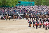 The Colonel's Review 2012: The King's Troop Royal Horse Artillery starting their Ride Past.. Horse Guards Parade, Westminster, London SW1,  United Kingdom, on 09 June 2012 at 11:51, image #387
