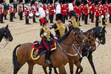 The Colonel's Review 2012: Royal Horse Artillery officers saluting during the Ride Past.. Horse Guards Parade, Westminster, London SW1,  United Kingdom, on 09 June 2012 at 11:51, image #398
