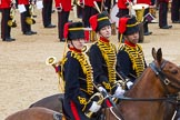 The Colonel's Review 2012: Trumpeters from the Royal Horse Artillery during the Ride Past.. Horse Guards Parade, Westminster, London SW1,  United Kingdom, on 09 June 2012 at 11:52, image #399