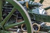 The Colonel's Review 2012: A close-up look at one of the 13-pounder guns used by the Royal Horse Artillery.. Horse Guards Parade, Westminster, London SW1,  United Kingdom, on 09 June 2012 at 11:52, image #403