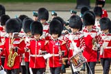Trooping the Colour 2012: The Band of the Irish Guards arriving on Horse Guards Parade.. Horse Guards Parade, Westminster, London SW1,  United Kingdom, on 16 June 2012 at 10:26, image #52