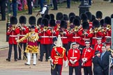 Trooping the Colour 2012: Drum Major Stephen Staite, Grenadier Guards., with the Band of the Grenadier Guards.. Horse Guards Parade, Westminster, London SW1,  United Kingdom, on 16 June 2012 at 10:26, image #55
