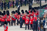 Trooping the Colour 2012: Arriving behind the Band of the Grendier Guards - No. 3 Guard, No. 7 Company, Coldstream Guards.. Horse Guards Parade, Westminster, London SW1,  United Kingdom, on 16 June 2012 at 10:27, image #56