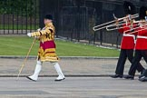Trooping the Colour 2012: Drum Major Stephen Staite, Grenadier Guards., with the Band of the Grenadier Guards.. Horse Guards Parade, Westminster, London SW1,  United Kingdom, on 16 June 2012 at 10:27, image #59