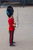 Trooping the Colour 2012: A closer look at Subaltern and Ensign of No. 5 Guard, 1st Battalion Irish Guards.. Horse Guards Parade, Westminster, London SW1,  United Kingdom, on 16 June 2012 at 10:29, image #65