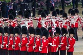 Trooping the Colour 2012: Drummers from The Band of the Coldstream Guards.. Horse Guards Parade, Westminster, London SW1,  United Kingdom, on 16 June 2012 at 10:29, image #67