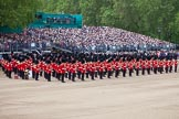Trooping the Colour 2012: The Massed Bands, ready for the start of the parade.. Horse Guards Parade, Westminster, London SW1,  United Kingdom, on 16 June 2012 at 10:36, image #91