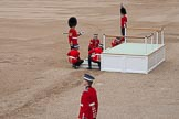 Trooping the Colour 2012: Assembling the saluting base for Her Majesty.. Horse Guards Parade, Westminster, London SW1,  United Kingdom, on 16 June 2012 at 10:53, image #135