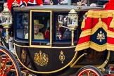 Trooping the Colour 2012: Another close look at HM The Queen and HRH The Prince Philip in the Glass Coach.. Horse Guards Parade, Westminster, London SW1,  United Kingdom, on 16 June 2012 at 10:58, image #160