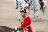 Trooping the Colour 2012: During the Inspection of the Line: Master of the Horse, The Lord Vestey.. Horse Guards Parade, Westminster, London SW1,  United Kingdom, on 16 June 2012 at 11:02, image #201