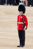 Trooping the Colour 2012: The Sentry on the Southern side of the Colour Sergeant Paul Baines, Guardsman Etherington.. Horse Guards Parade, Westminster, London SW1,  United Kingdom, on 16 June 2012 at 11:19, image #300