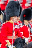 Trooping the Colour 2012: Close-up of the Major of the Parade, Major Mark Lewis, Welsh Guards.. Horse Guards Parade, Westminster, London SW1,  United Kingdom, on 16 June 2012 at 11:35, image #399