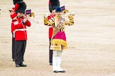 Trooping the Colour 2012: Senior Drum Major, M Betts, Grenadier Guards, during the March Past.. Horse Guards Parade, Westminster, London SW1,  United Kingdom, on 16 June 2012 at 11:39, image #447