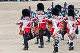Trooping the Colour 2012: The drummers and pipers marching across Horse Guards Parade just before the start of the Ride Past.. Horse Guards Parade, Westminster, London SW1,  United Kingdom, on 16 June 2012 at 11:52, image #523
