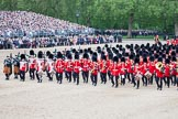 Trooping the Colour 2012: The Massed Bands are about to move to the right, to make room for the Ride Past.. Horse Guards Parade, Westminster, London SW1,  United Kingdom, on 16 June 2012 at 11:52, image #524