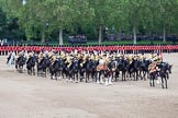 Trooping the Colour 2012: The Mounted Bands of the Household Cavalry playing during the Ride Past.. Horse Guards Parade, Westminster, London SW1,  United Kingdom, on 16 June 2012 at 11:54, image #536