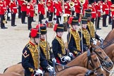 Trooping the Colour 2012: Royal Horse Artillery during the Ride Past.. Horse Guards Parade, Westminster, London SW1,  United Kingdom, on 16 June 2012 at 11:55, image #547