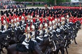 Trooping the Colour 2012: Troopers from The Blues and Royals during the Ride Past.. Horse Guards Parade, Westminster, London SW1,  United Kingdom, on 16 June 2012 at 11:56, image #563